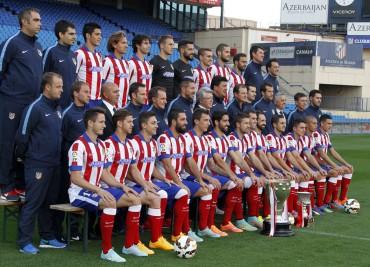 Atlético de Madrid se tomó foto oficial