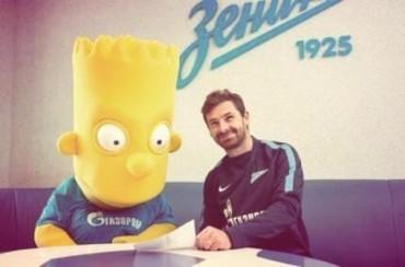 'Fichaje bomba' del Zenit: ¡Bart Simpson!