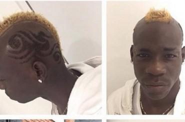 Nuevo y extravagante look de Balotelli