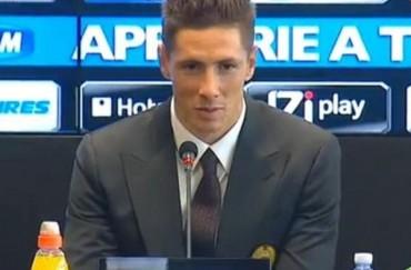 """Torres: """"Es un honor llevar el 9 del Milan"""""""