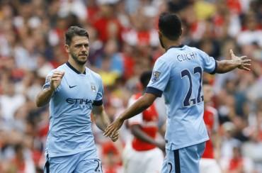 Demichelis rescata al City ante el Arsenal