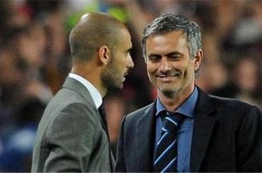 Pep Guardiola y José Mourinho se picaron en Nyon