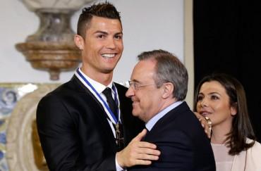 """Cristiano Ronaldo: """"Estoy 100% con mi presidente"""""""