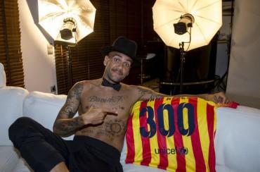 Dani Alves cumplirá ante el Athletic 300 partidos en el Barça