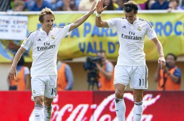 Real Madrid caminando le gana al Villarreal