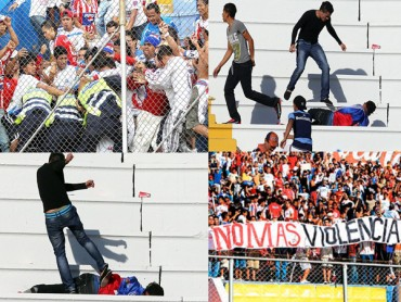 """Se implementara """"Ley anti violencia"""" para revoltosos en los Estadios"""