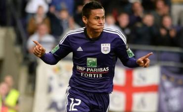 Andy Najar, anotó gol con su equipo Anderlecht