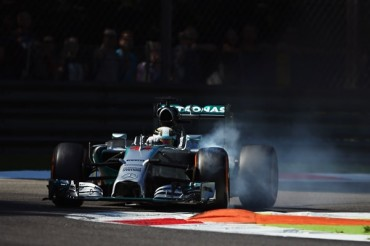 Hamilton obtuvo la Pole en Italia