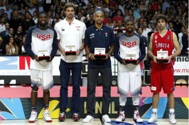 Kyrie Irving, el MVP del Mundial de Basquet