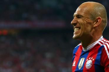 Robben podría perderse clasificatoria a Eurocopa 2016