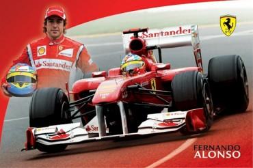 Alonso, molesto por rumores de su salida de Ferrari