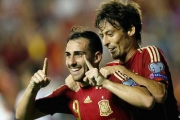 España arrancó con goleada su camino a la Euro 2016