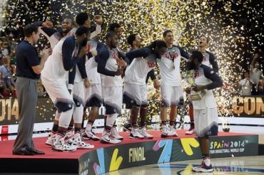 Estados Unidos, Bicampeón Mundial de basquetbol
