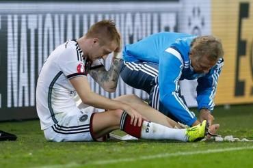 Marco Reus, fuera un mes por lesión de la selección de Alemania