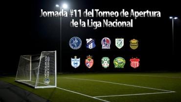 Lista la jornada #11 del Torneo de Apertura de la Liga Nacional