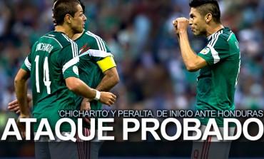 Miguel Herrera alistó alineación contra Honduras