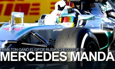 Hamilton ganó el GP de Rusia