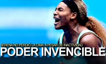 Serena Williams, inamovible en la cima de la WTA
