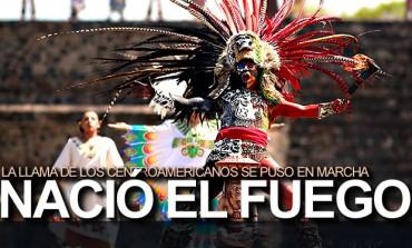 Fuego Centroamericano ardió en Teotihuacán