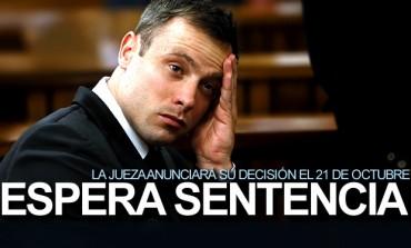 Pistorius conocerá su sentencia el 21 de octubre