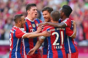 Bayern Múnich volvió a dar hoy un golpe de autoridad
