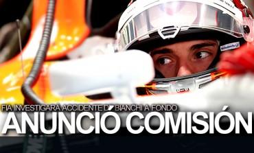 FIA anunció comisión que investigará accidente de Bianchi
