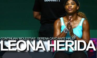 Leona barrida, Halep echó a Serena de Singapur