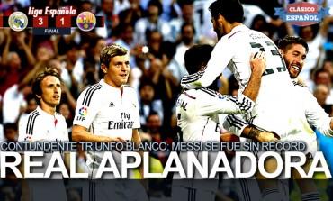 Contundente triunfo Blanco ante el Barcelona