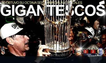 Giants se coronó en la Serie Mundial