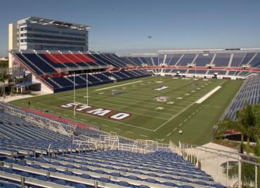 El FAU Stadium listo para el amistoso Estados Unidos-Honduras