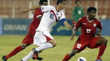 Costa Rica gana en Omán