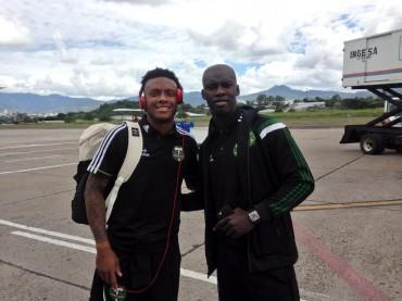 El Portland ya esta en Honduras para enfrentar al Olimpia