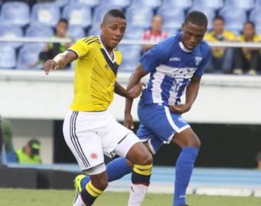 Colombia al ultimo suspiro logro victoria ante las Sub-20 de Honduras