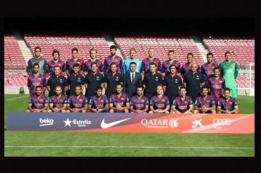El Barcelona se hizo hoy la foto oficial de la temporada