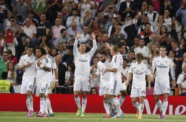 El Real Madrid es el equipo más goleador de Europa