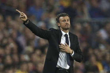 """Luis Enrique: """"Llegamos al Bernabéu en un momento óptimo"""""""