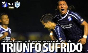 Honduras Progreso por fin gana en casa venciendo al Victoria
