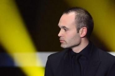 Iniesta, ganador del 'Golden Foot' de 2014