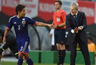 Javier Aguirre logró primer triunfo con Japón