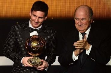 """Blatter : """"Fue incorrecto dar el 'Balón de Oro' del Mundial a Messi"""""""
