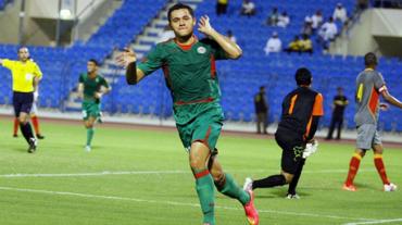 Roger Rojas, anotó un nuevo gol en Arabia Saudita