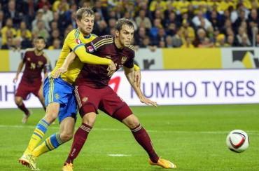 1-1: Suecia salva un empate sin Ibrahimovic frente a una Rusia superior