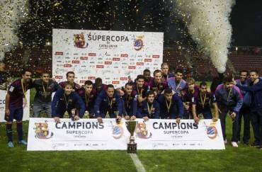 El Barça necesitó de los penaltis para ser Supercampeón de Catalunya