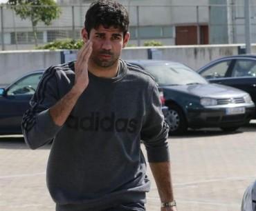 Diego Costa fue hospitalizado por un extraño virus estomacal