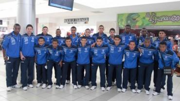 Sub-20 de Honduras partió este lunes hacia Colombia