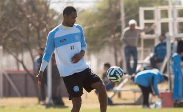 Jerry Bengtson, se quedó sin jugar con el Belgrano este fin de semana