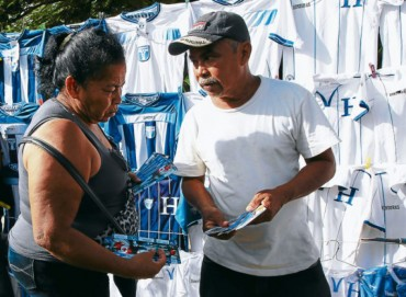 Mafia de falsificadores de boletos en el fútbol Hondureño