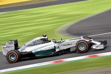 Lewis Hamilton lideró prácticas libres del GP en Japón