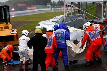 GP de Japón, criticado por accidente de Bianchi