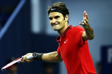 Federer avanzó en Shanghai y será número dos mundial
